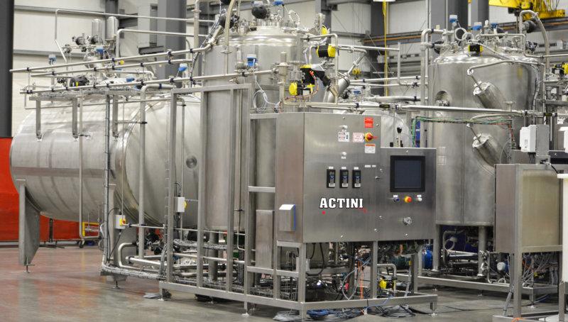 CYCLOBATCH effluent decontamination unit (4)