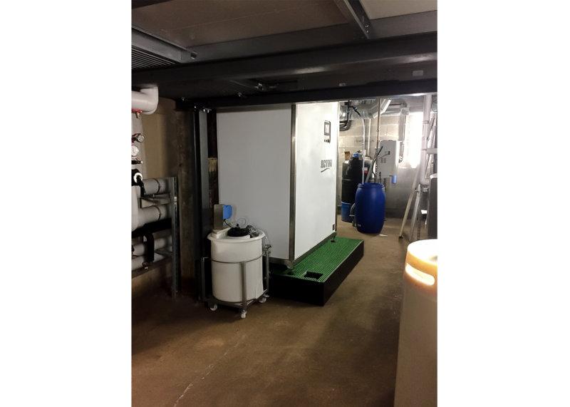 MICROSTEAM - effluent decontamination unit